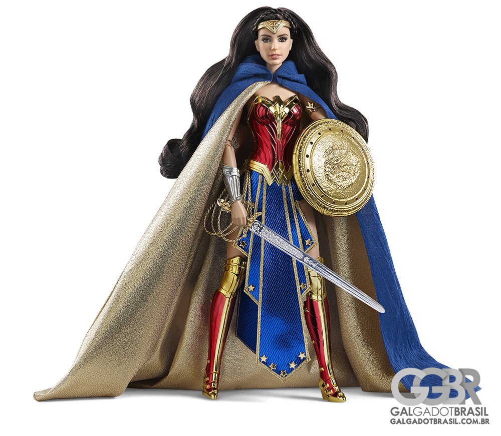 Barbie inspirada na Mulher Maravilha de Gal Gadot será lançada na Comic-Con