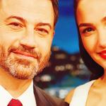 Vídeo e fotos: Gal Gadot comparece ao Jimmy Kimmel Live
