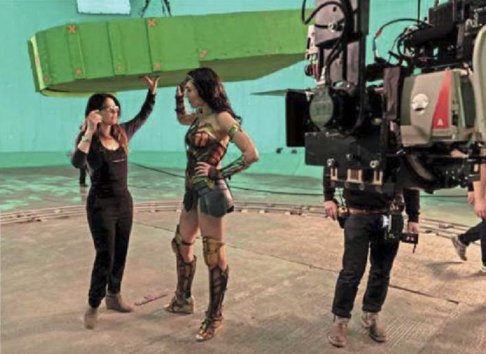 Gal Gadot & Patty Jenkins nos bastidores de Mulher-Maravilha