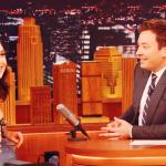 Vídeos e fotos: Gal Gadot no programa do Jimmy Fallon
