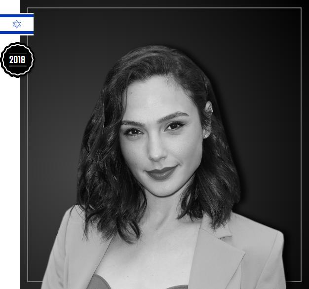Gal Gadot está na lista das 500 pessoas influentes da industria do entretenimento da Variety, do ano de 2018.
