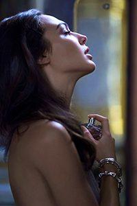 Gal Gadot na campanha da fragrância Bamboo, Gucci.